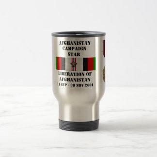 Liberation of Afghanistan / CAMPAIGN STAR Coffee Mug