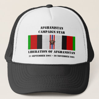 Liberation of Afghanistan / CAMPAIGN STAR Trucker Hat