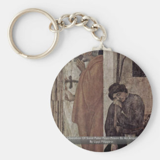 Liberation Of Saint Peter From Prison By An Angel Key Chains