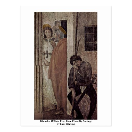 Liberation Of Saint Peter From Prison By An Angel Postcard