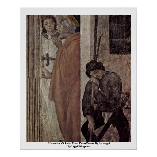 Liberation Of Saint Peter From Prison By An Angel Poster