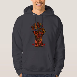 Liberation of self & others is the path to joy hoodie