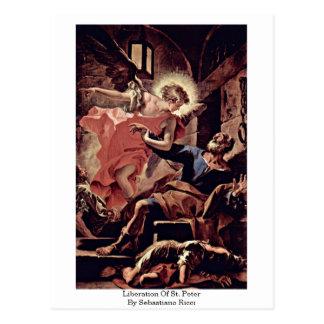 Liberation Of St. Peter By Sebastiano Ricci Postcard