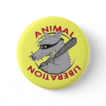 Liberation Rat Pinback Button