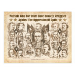 Liberators of Cuba - 1898 Newspaper Article Post Card