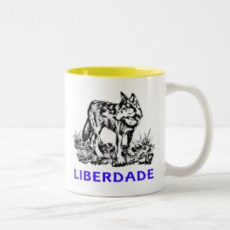 Liberdade - Lobo em estado selvagem Tazas