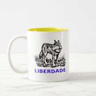 Liberdade - Lobo em estado selvagem Taza
