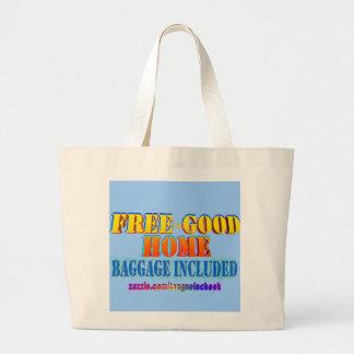 Libere al buen hogar, equipaje incluido. ¡Modifiqú Bolsa Tela Grande