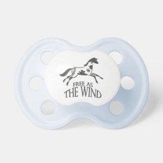Libere como el viento chupetes para bebes