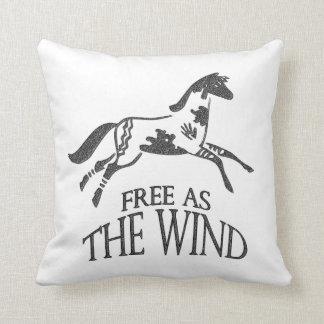 Libere como el viento cojín