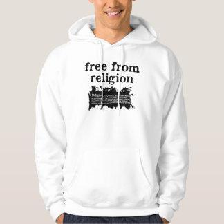 Libere de la camiseta de la religión sudadera