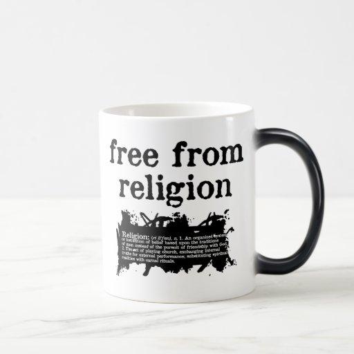 Libere de la taza Calor-Cambiante de la religión