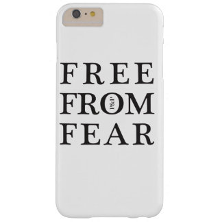 Libere de miedo funda barely there iPhone 6 plus