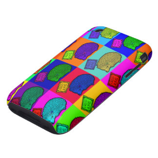 Libere el arte pop colorido del erizo de los carcasa resistente para iPhone