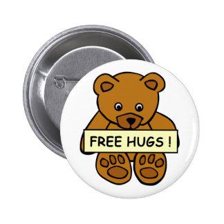 Libere el botón de los abrazos
