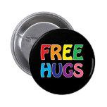 Libere el botón de los abrazos pin