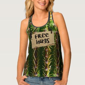 Libere el cactus espinoso de los abrazos