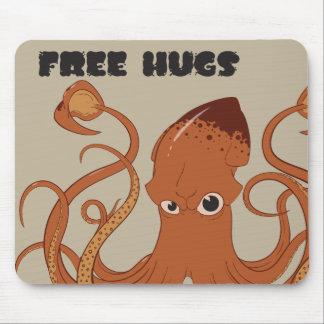 Libere el calamar Mousepad de los abrazos