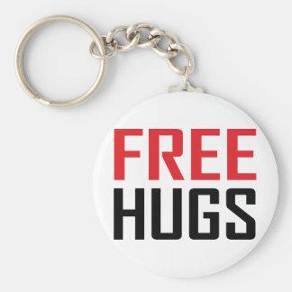 libere el camisetas de los abrazos llavero personalizado