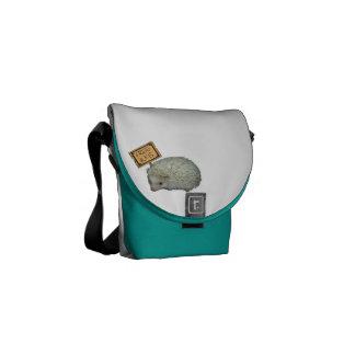 Libere el erizo de los abrazos bolsas messenger