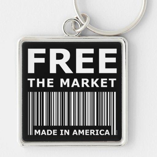 Libere el mercado llavero