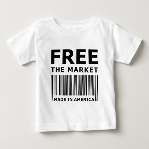 Libere el mercado playera de bebé
