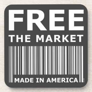 Libere el mercado posavasos de bebidas