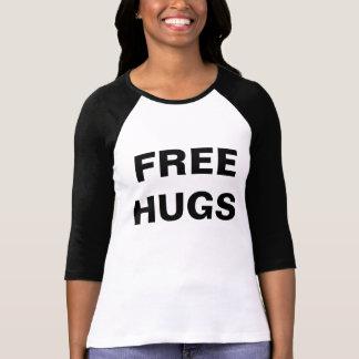 Libere el raglán de las mujeres de los abrazos playera