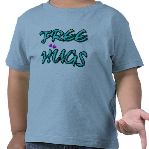 Libere el txt de los abrazos camiseta