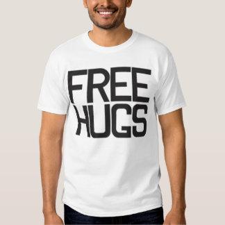 Libere la camiseta del abrazo polera