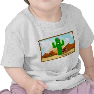 Libere la camiseta del niño del cactus de los abra