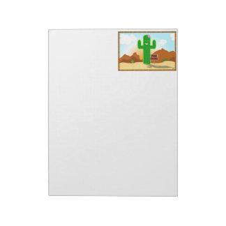 Libere la libreta del cactus de los abrazos blocs de notas