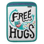Libere la manga del ipad de los abrazos funda para iPads
