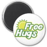 Libere la novedad de los abrazos imán para frigorífico