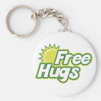 Libere la novedad de los abrazos llavero personalizado