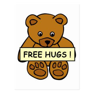 Libere la postal de los abrazos