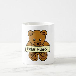 Libere la taza de los abrazos