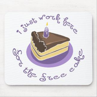 Libere la torta Mousepad Alfombrillas De Raton