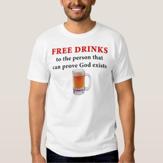 Libere las bebidas playera