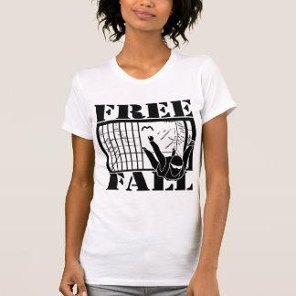 Libere las camisetas de la caída playera