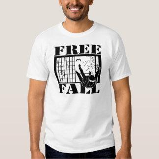 Libere las camisetas de la caída remeras