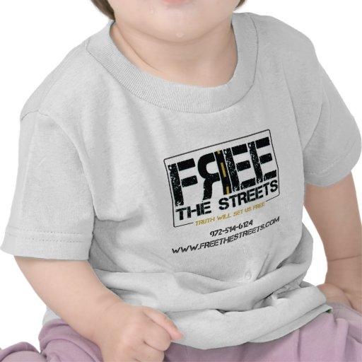 Libere las camisetas de las calles