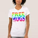 LIBERE las camisetas sin mangas del arco iris de