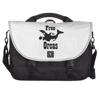 Libere las orcas bolsas de portatil