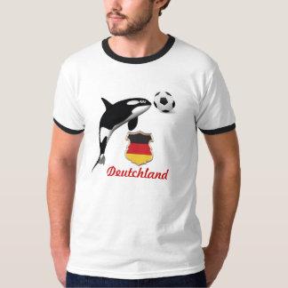 Libere las orcas, edición del fútbol de Alemania Remeras