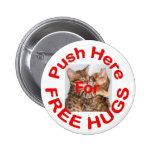 Libere los abrazos 2 pin