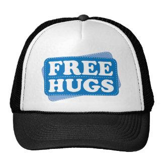 Libere los abrazos - azul gorra