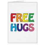 Libere los abrazos felicitación