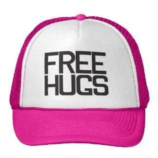 Libere los abrazos gorros
