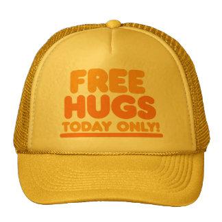 Libere los abrazos hoy solamente gorros